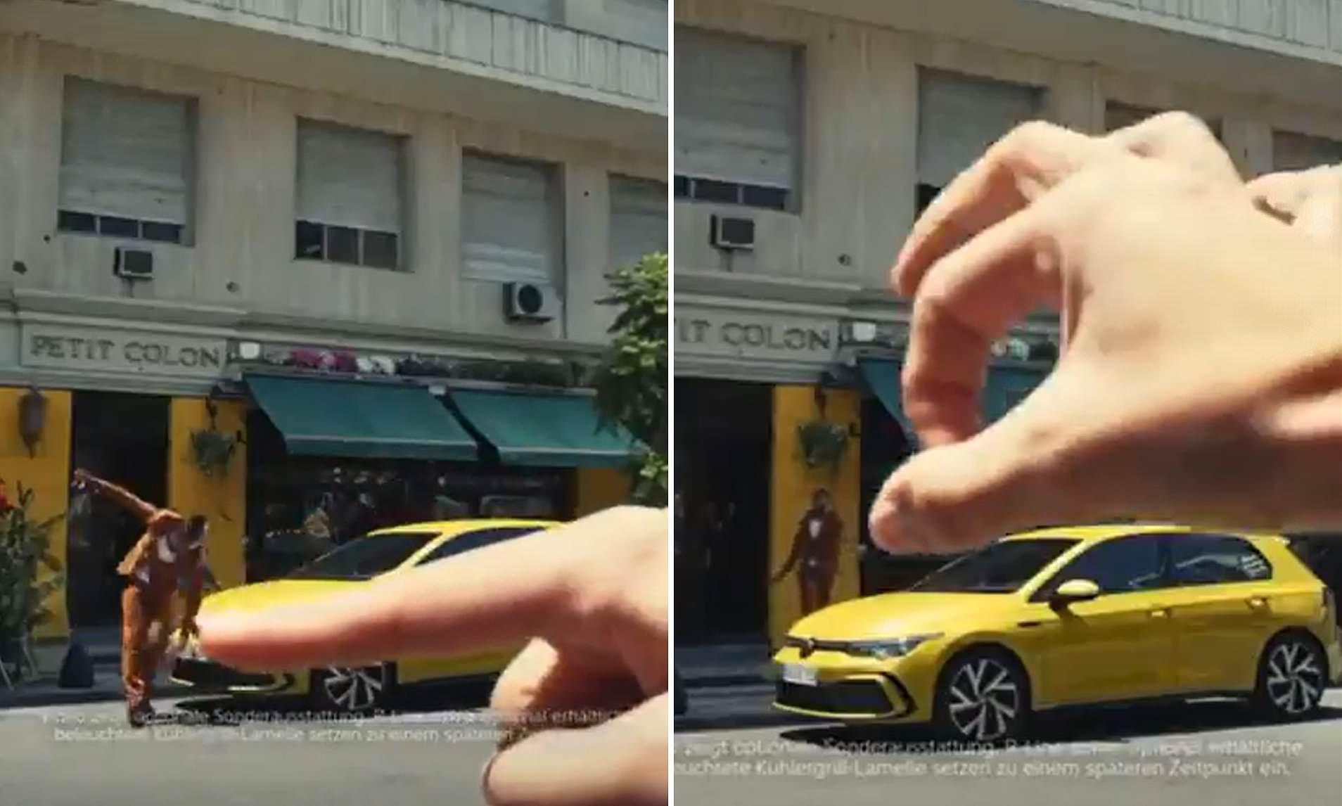 volkswagen's racist ad