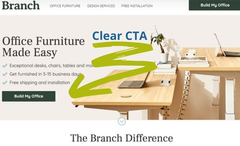 CTA for Landing Page