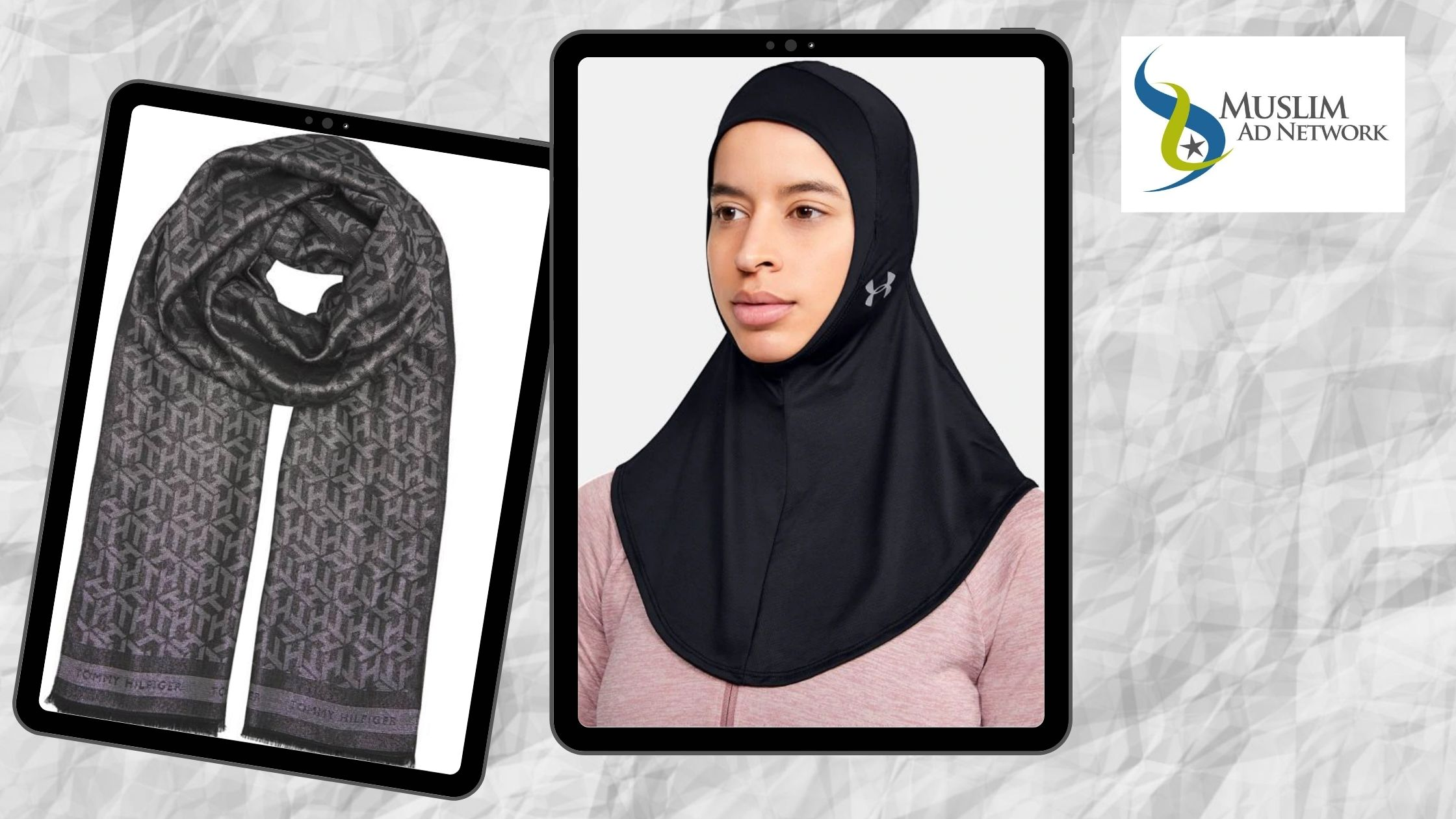Under amour and tommy Hilfiger New Hijab