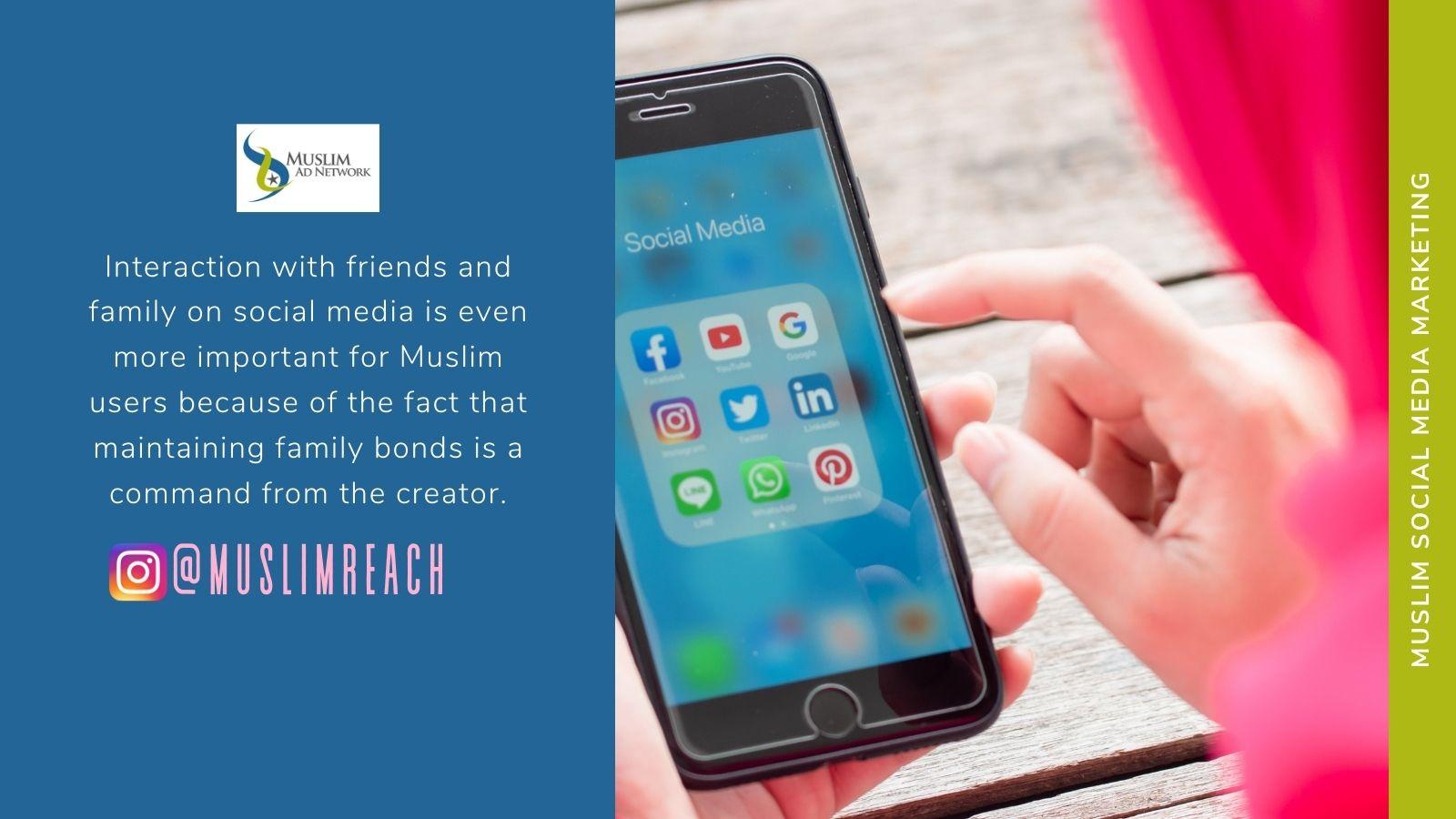 social media marketing to Muslims