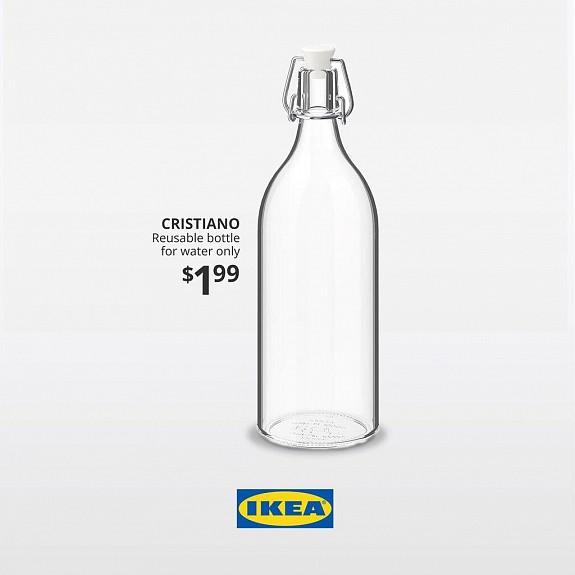 IKEA Cristiano bottle