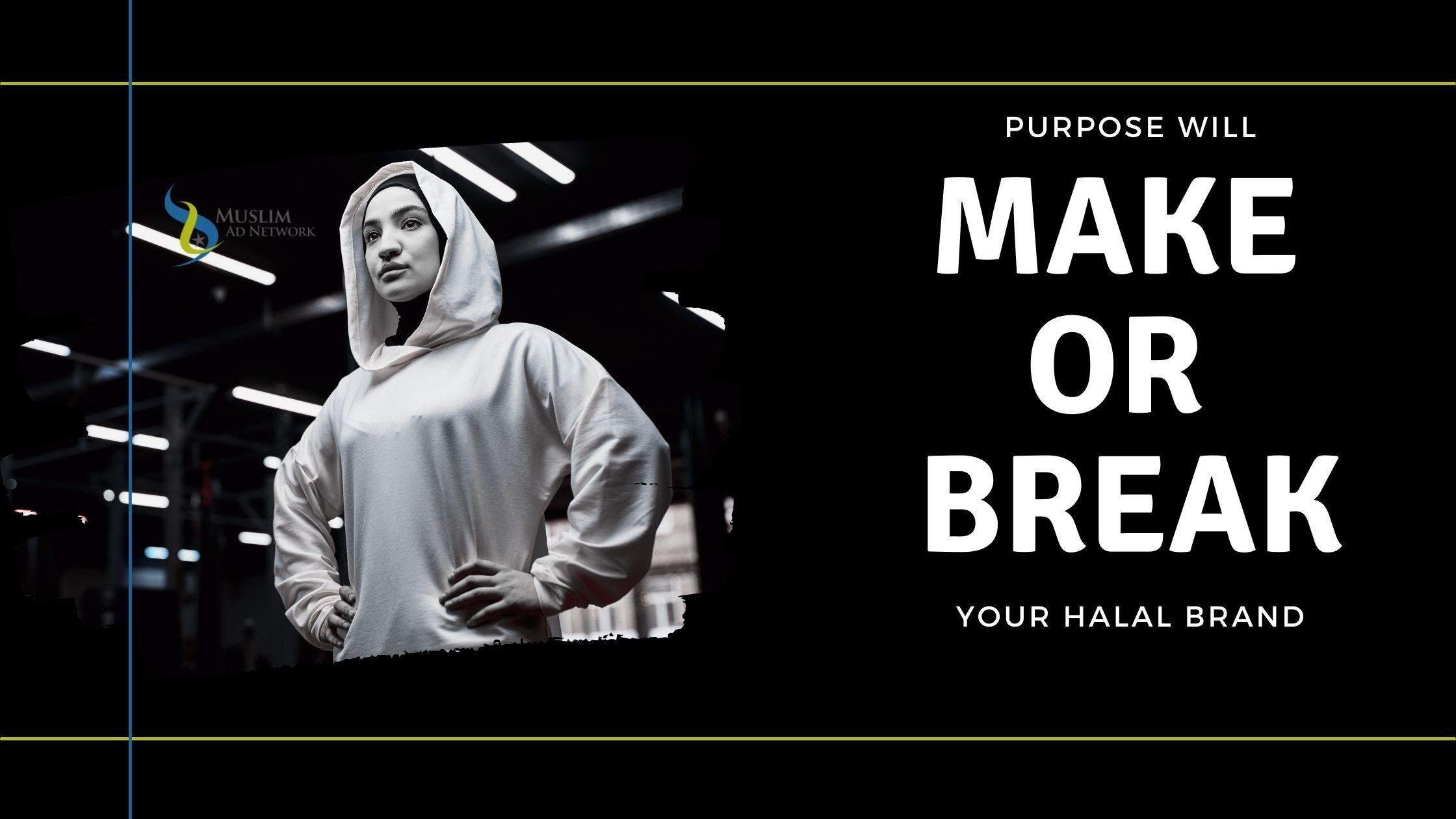 purpose for halal brand